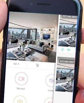 Mini Kamera mit live Übertragung